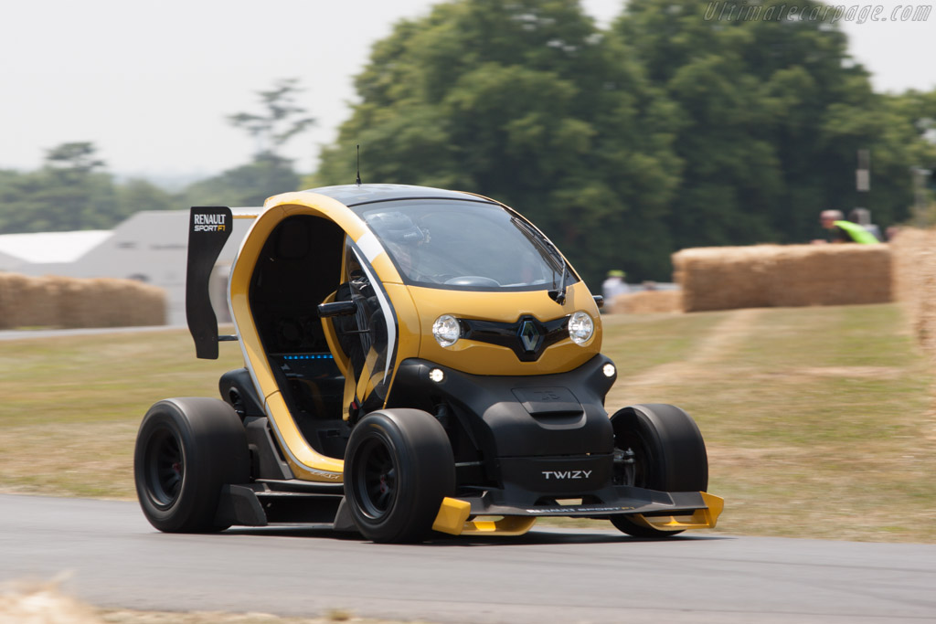 Renault Twizy F1    - 2013 Goodwood Festival of Speed