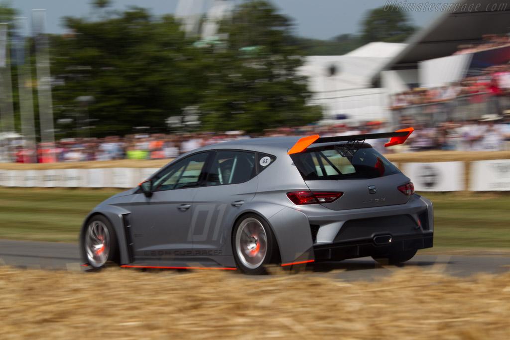 Seat Leon Cup Racer  - Entrant: Seat Sport - Driver: Jordi Hirvonen  - 2013 Goodwood Festival of Speed