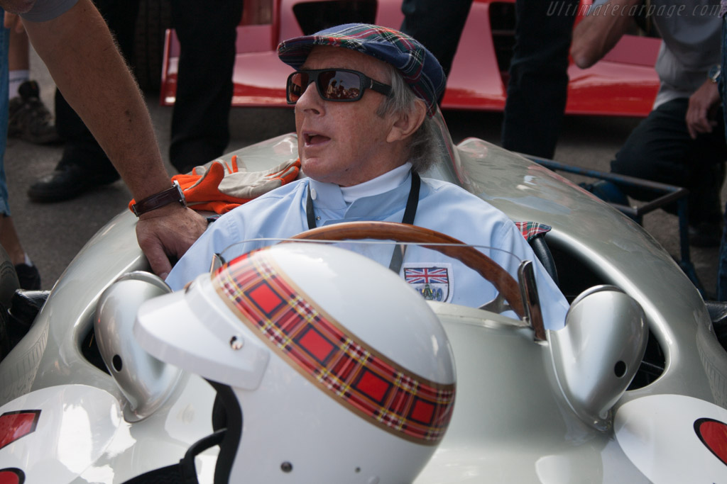 Sir Jackie Stewart - Chassis: 000 08/54 - Entrant: Mercedes-Benz Classic  - 2013 Goodwood Festival of Speed