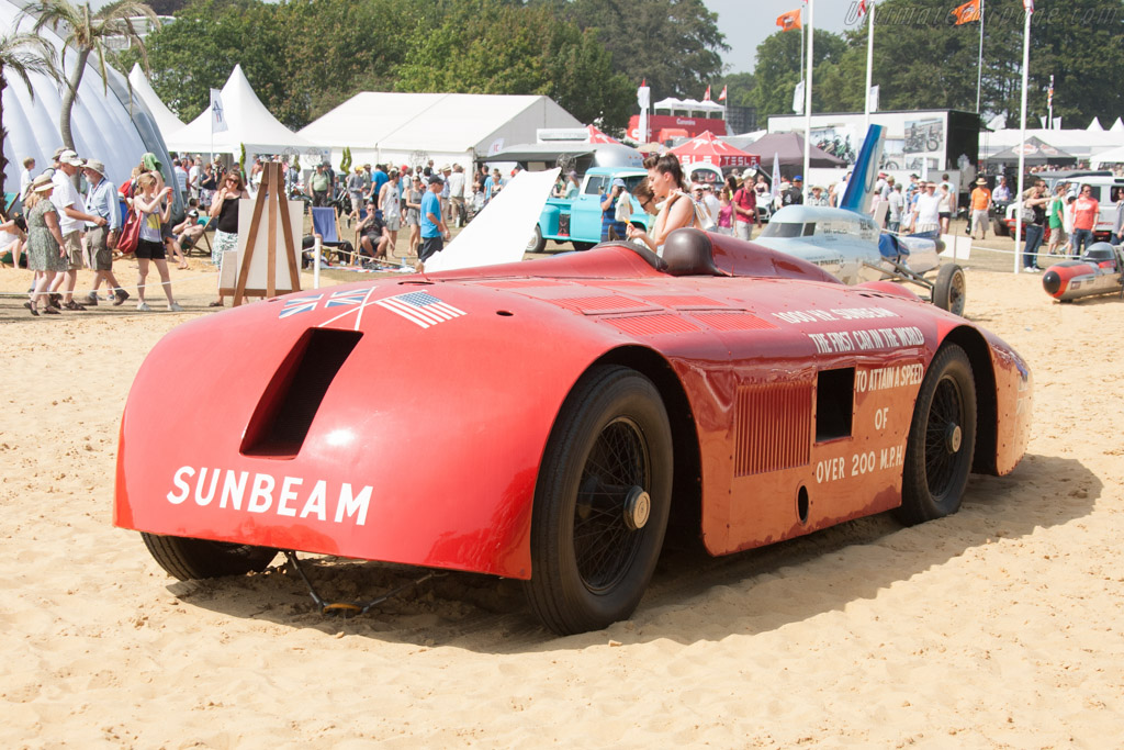 Sunbeam 1000hp  - Entrant: National Motor Museum  - 2013 Goodwood Festival of Speed