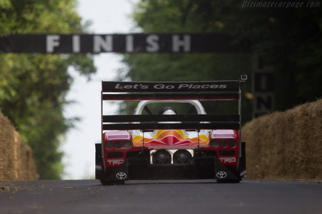 TMG EV P002  - Entrant: Toyota Motor Company - Driver: Rod Millen  - 2013 Goodwood Festival of Speed