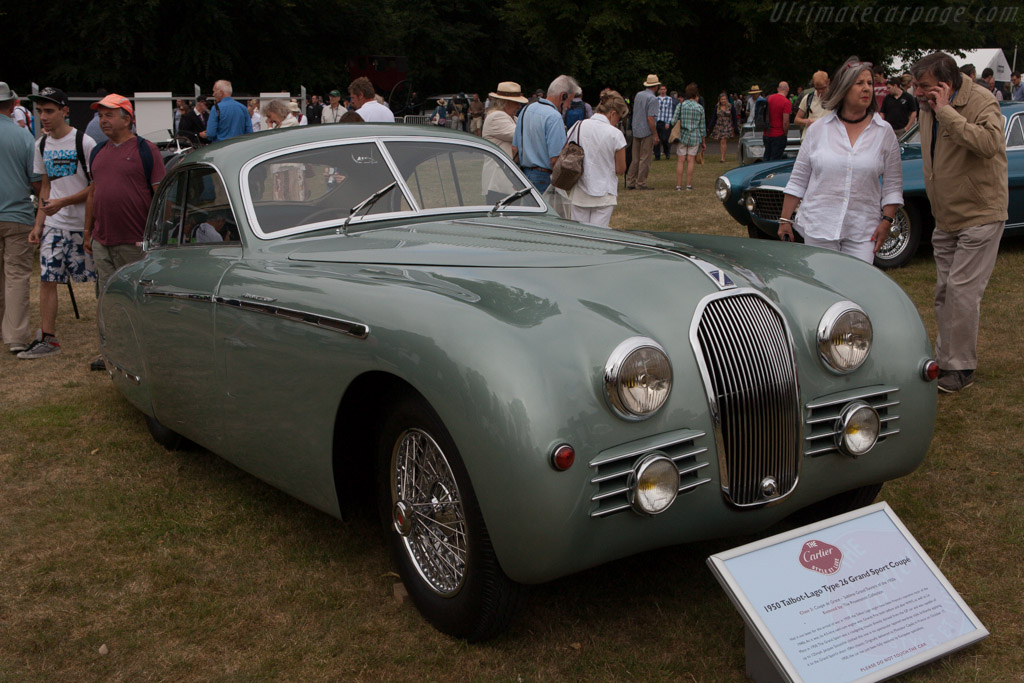 Talbot Lago T26 Grand Sport - Chassis: 110151 - Entrant: The Provenance Collection  - 2013 Goodwood Festival of Speed