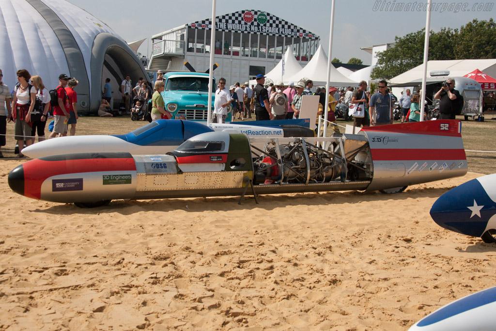 The 52 Express  - Entrant: Alex Macfadzean  - 2013 Goodwood Festival of Speed
