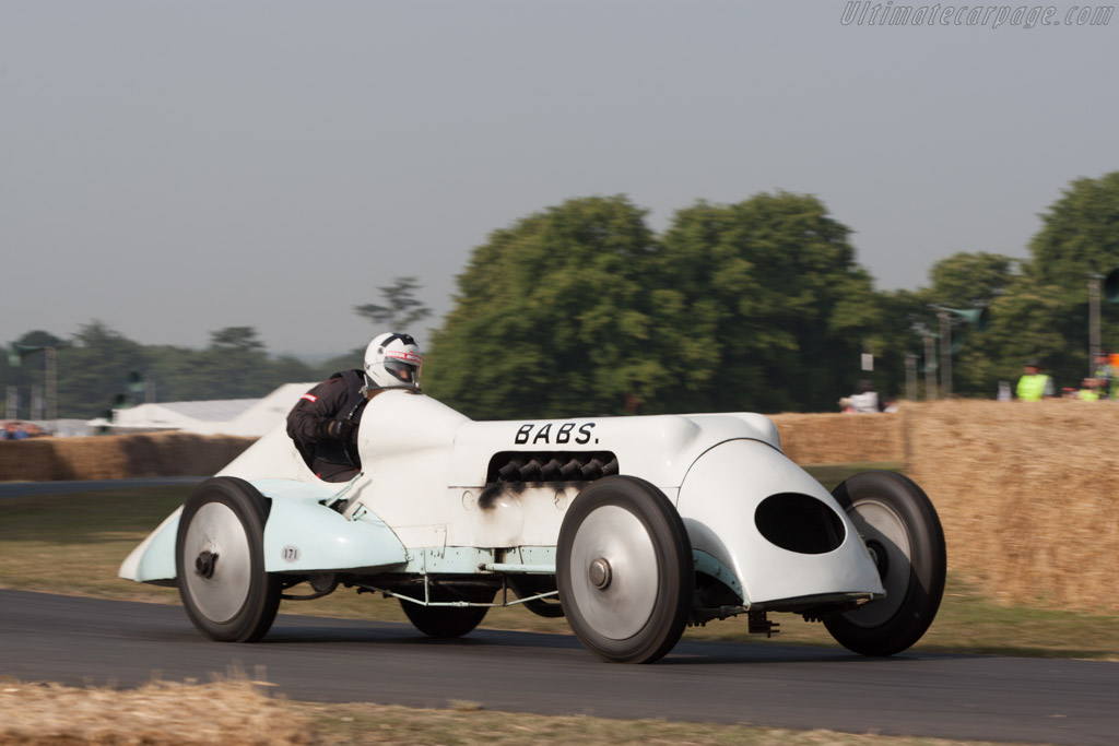 Thomas Special 'Babs'  - Driver: Geraint Owen  - 2013 Goodwood Festival of Speed