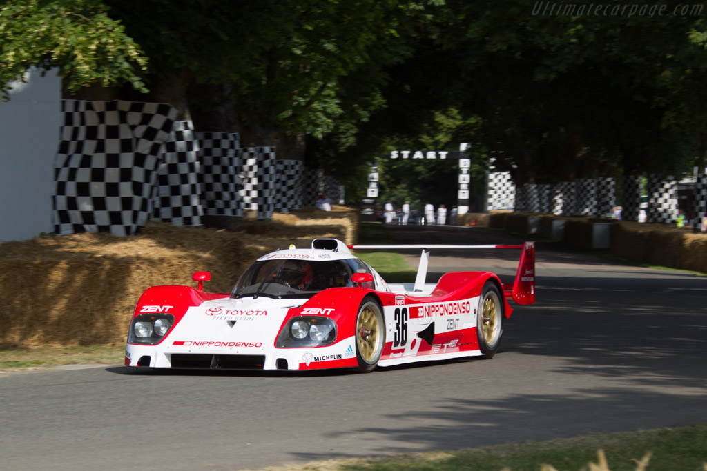 Toyota TS010 - Chassis: 007 - Entrant: Toyota Motor Company - Driver: Martin Brundle  - 2013 Goodwood Festival of Speed