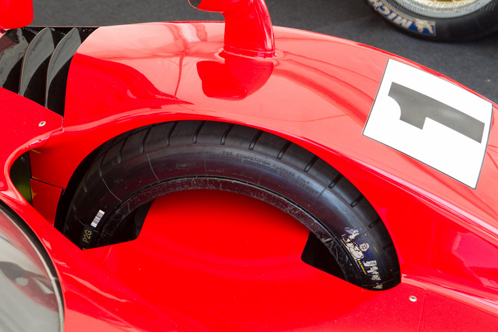 Toyota TS020 GT-One - Chassis: LM907 - Entrant: Toyota Motor Company  - 2013 Goodwood Festival of Speed