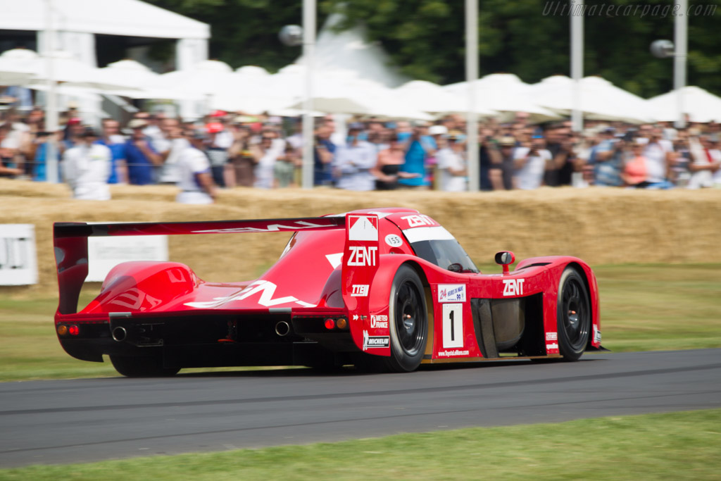 Toyota TS020 GT-One - Chassis: LM907 - Entrant: Toyota Motor Company - Driver: Martin Brundle  - 2013 Goodwood Festival of Speed
