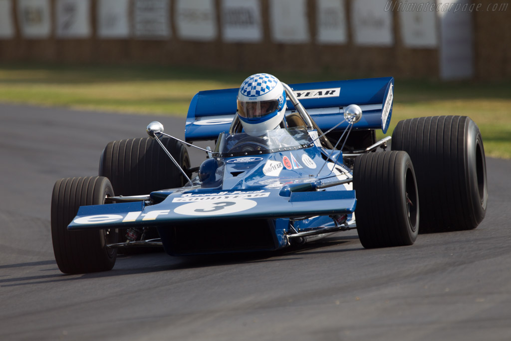Tyrrell 001 Cosworth - Chassis: 001 - Entrant: Kenneth Tyrrell - Driver: Adam Tyrrell  - 2013 Goodwood Festival of Speed