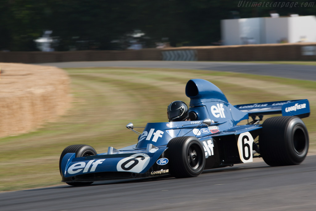 Tyrrell 006 Cosworth - Chassis: 006 - Entrant: John Delane  - 2013 Goodwood Festival of Speed