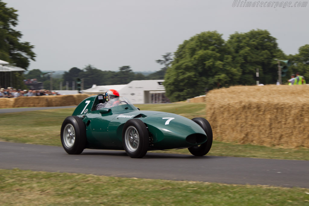 Vanwall VW - Chassis: VW9 - Entrant: The Donnington Collection - Driver: Rick Hall  - 2013 Goodwood Festival of Speed