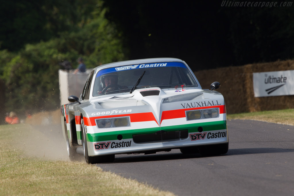 Vauxhal Firenza 'Baby Bertha'  - Driver: Chris Connelly  - 2013 Goodwood Festival of Speed