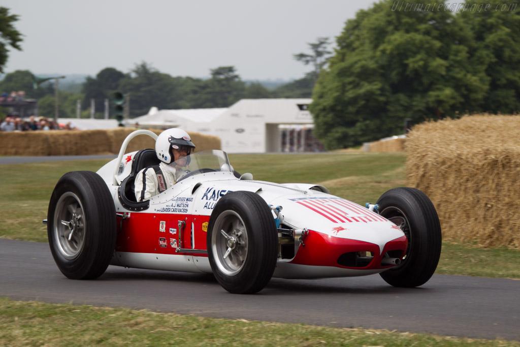 Watson Offenhauser Kaiser Aluminium Special  - Driver: Robert McConnell  - 2013 Goodwood Festival of Speed