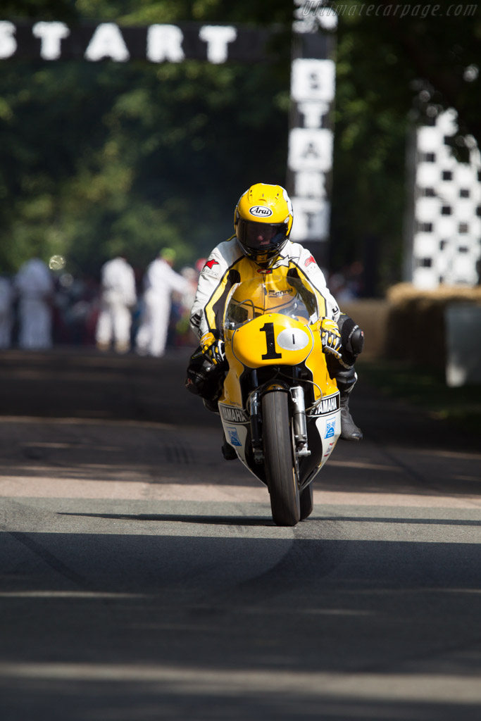 Yamaha OW48R YZR500  - Driver: Kenny Roberts  - 2013 Goodwood Festival of Speed