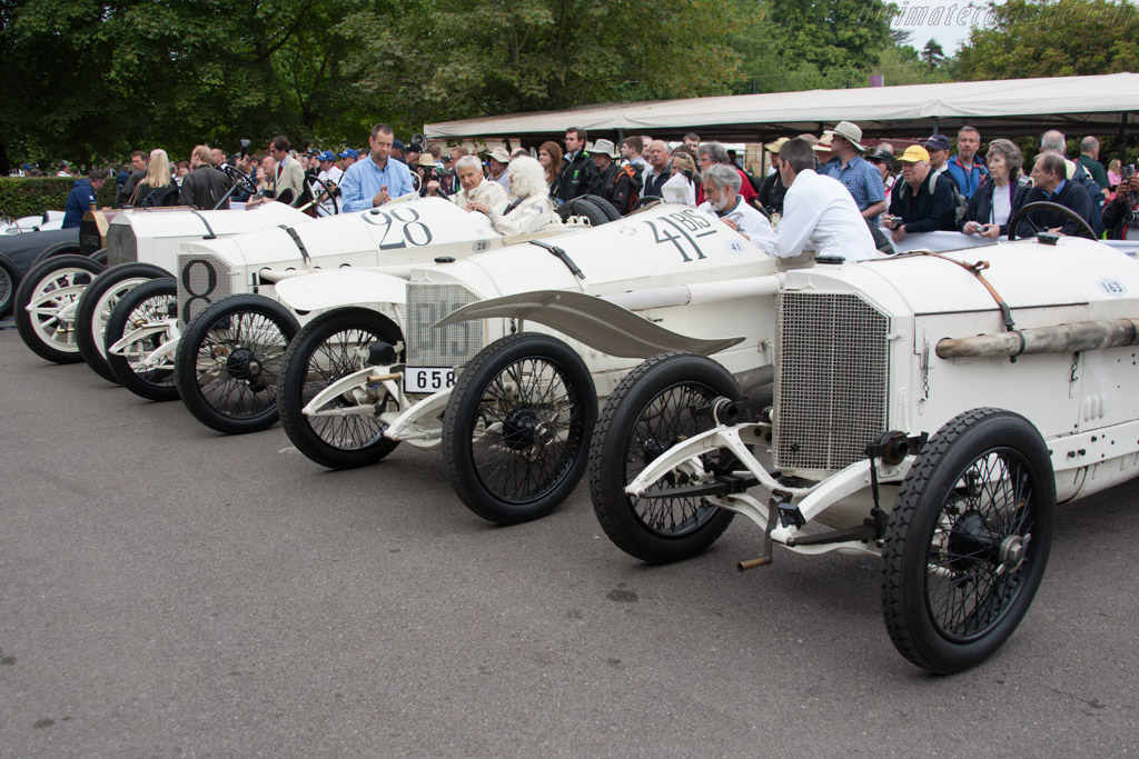 1914 Mercedes Grand Prix Cars    - 2014 Goodwood Festival of Speed