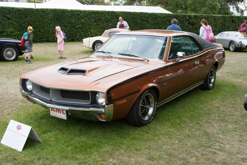 AMC Javelin SST Mark Donohue Edition  - Entrant: Klaas van Dyke  - 2014 Goodwood Festival of Speed