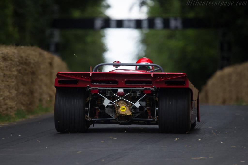 Alfa Romeo 33/TT/3 - Chassis: 11572-001 - Entrant: Scuderia del Portello - Driver: Marco Cajani  - 2014 Goodwood Festival of Speed