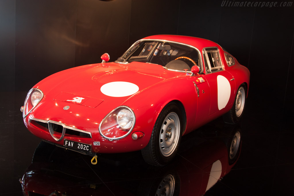 Alfa Romeo TZ    - 2014 Goodwood Festival of Speed