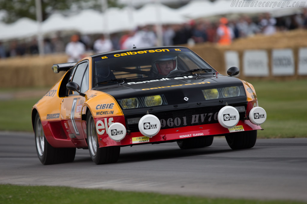 Alpine A310  - Entrant: Renault Classic - Driver: Jean-Pierre Prevost  - 2014 Goodwood Festival of Speed