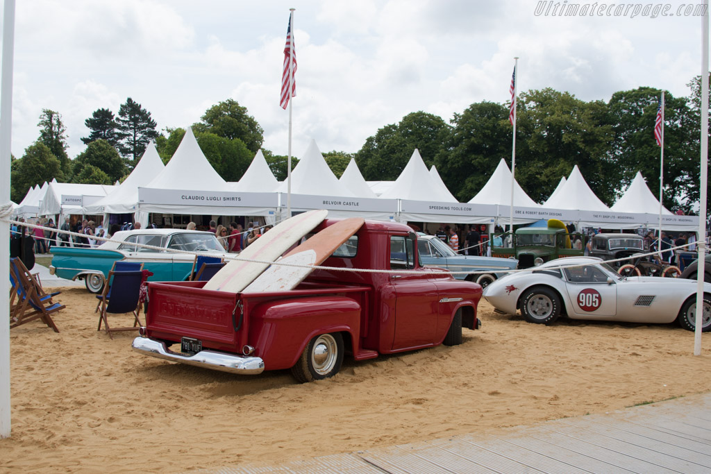 Americana display    - 2014 Goodwood Festival of Speed