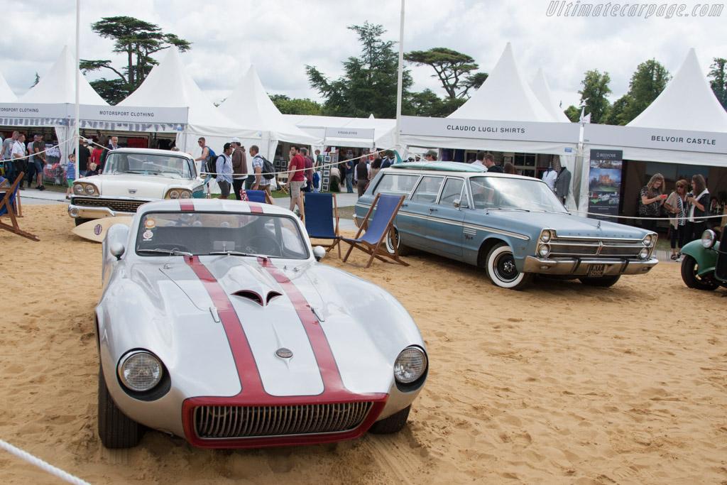 Americana display    - 2014 Goodwood Festival of Speed