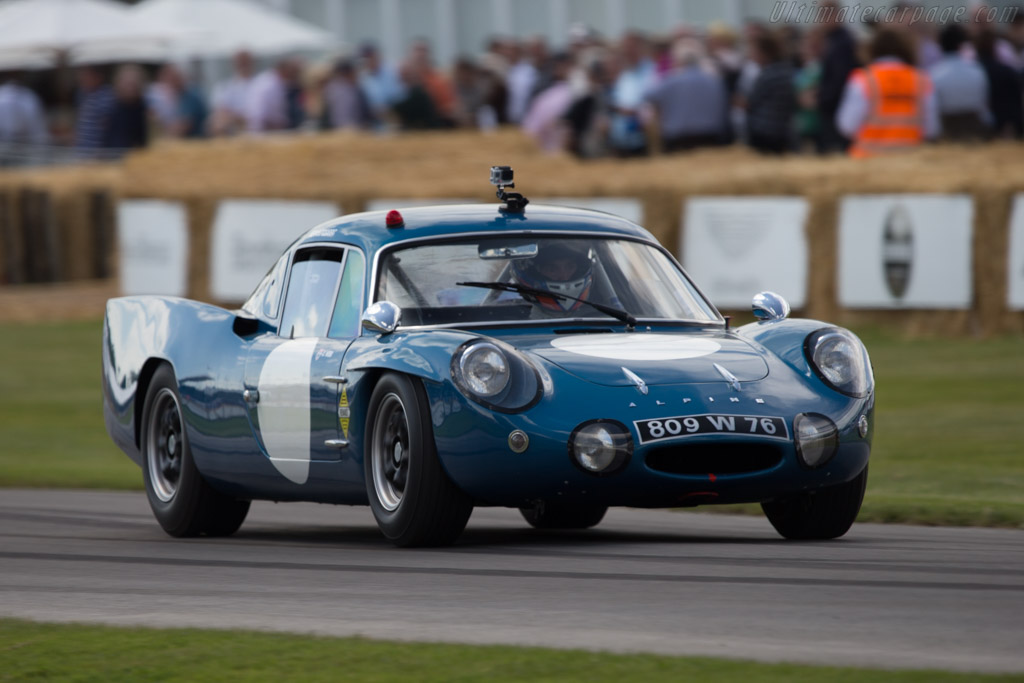 Apine M65 - Chassis: 1719 - Entrant: Renault Classic - Driver: Oliver Webb  - 2014 Goodwood Festival of Speed