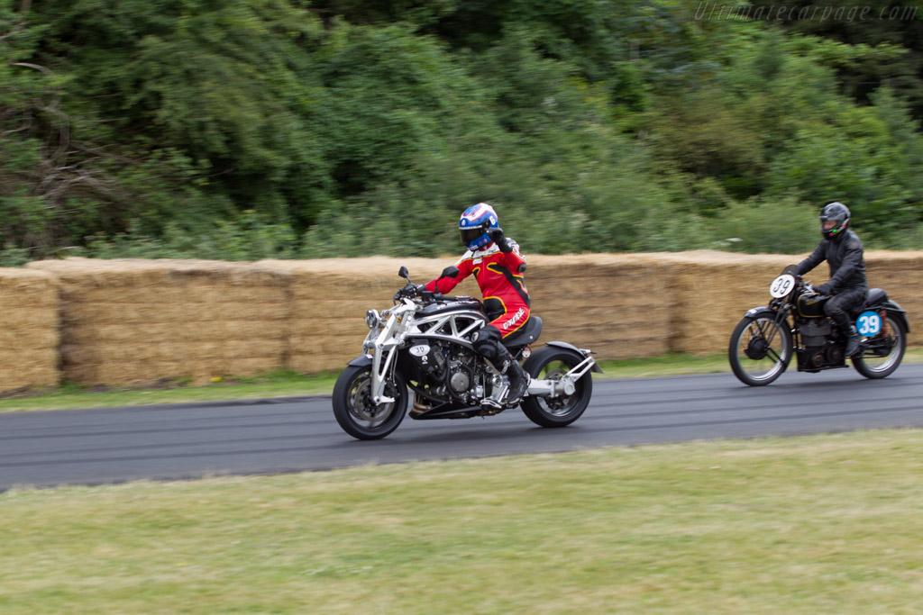 Ariel Prototype  - Entrant: Ariel Motorcycles - Driver: Alan Cathcart  - 2014 Goodwood Festival of Speed