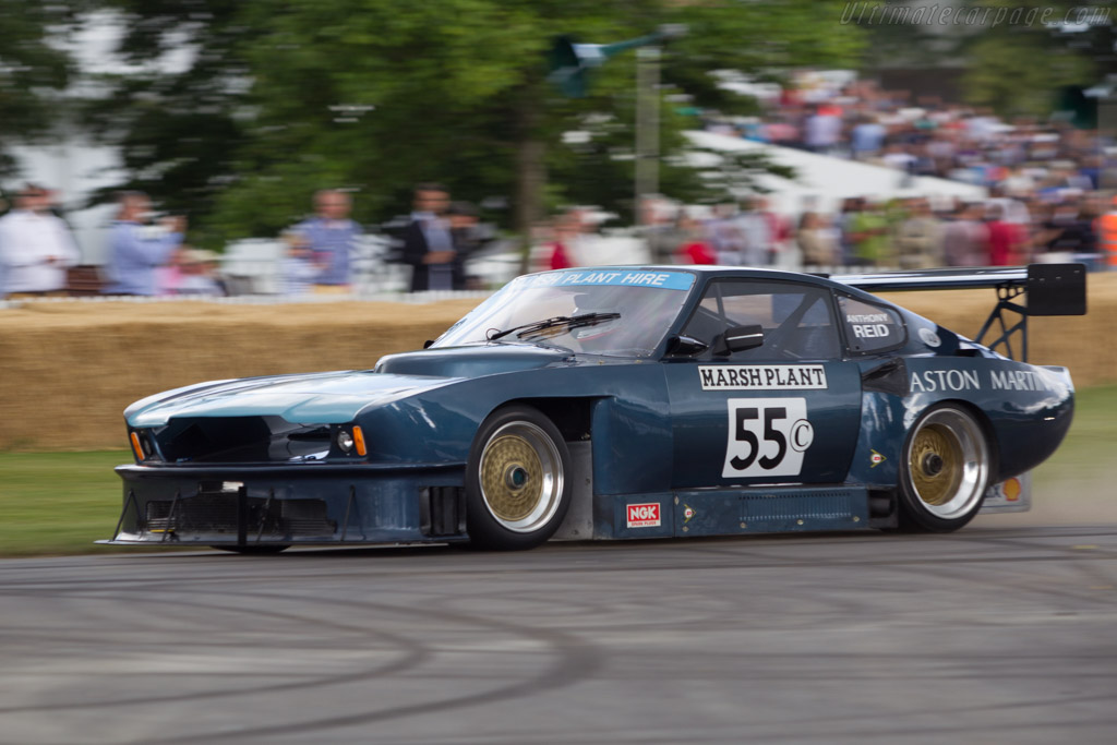Aston Martin V8 Vantage Evo 4 - Chassis: 10330 - Entrant: Geoffrey Marsh - Driver: Anthony Reid  - 2014 Goodwood Festival of Speed