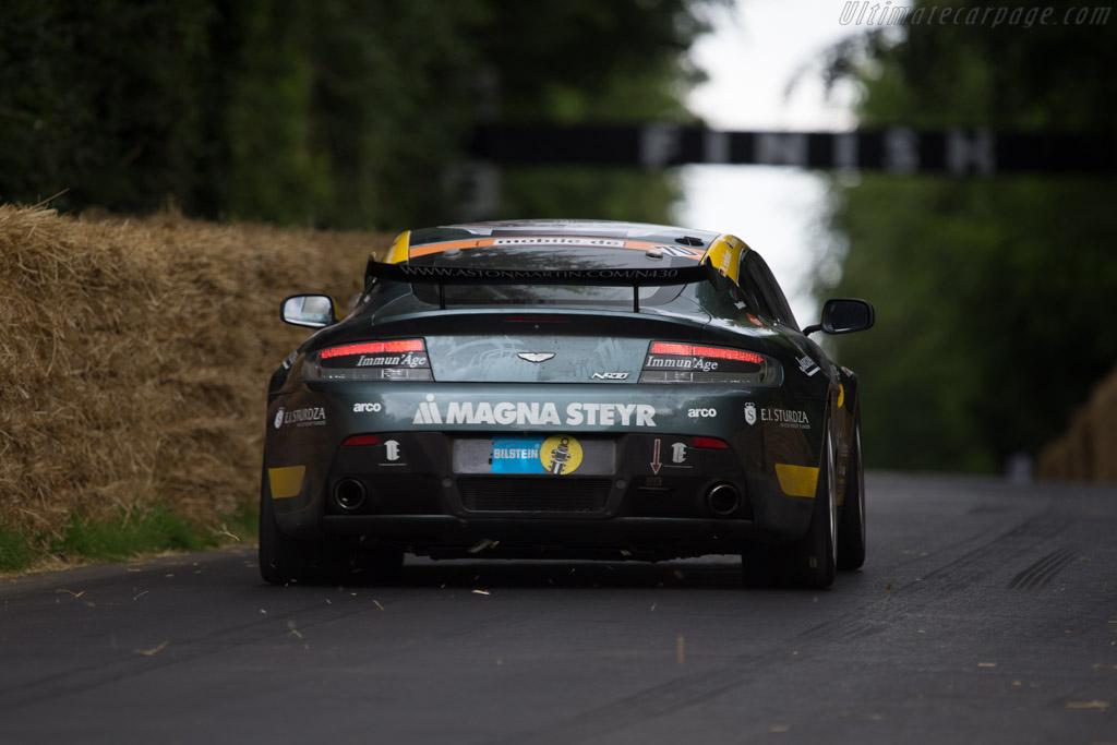 Aston Martin V8 Vantage N430  - Entrant: Aston Martin Racing - Driver: Marek Reichman  - 2014 Goodwood Festival of Speed