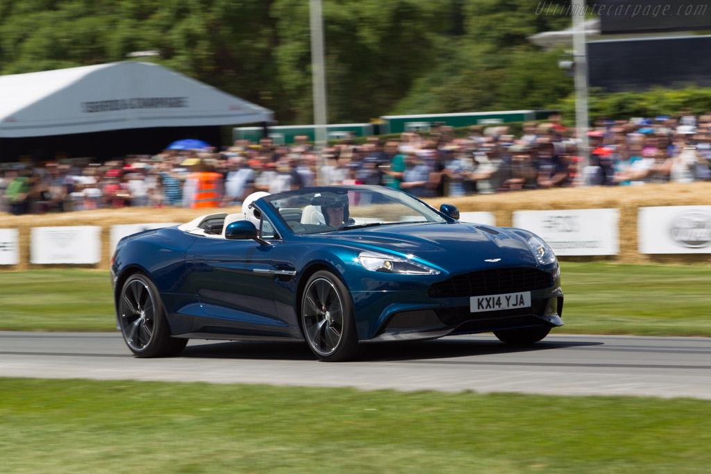 Aston Martin Vanquish Volante    - 2014 Goodwood Festival of Speed