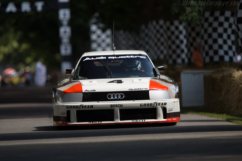 Audi 90 Quattro IMSA GTO - Chassis: WAUZZZ89ZKA000004 - Entrant: Audi Tradition - Driver: Andre Lotterer  - 2014 Goodwood Festival of Speed