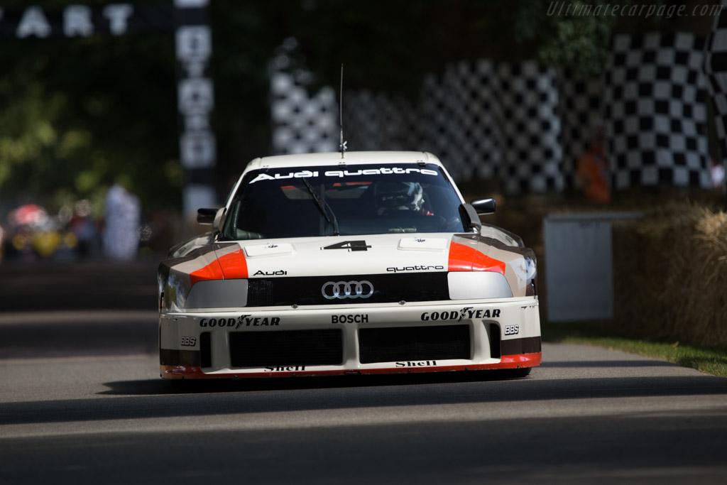 Audi 90 Quattro IMSA GTO - Chassis: WAUZZZ89ZKA000004 - Entrant: Audi Tradition - Driver: Andre Lotterer  - 2014 Goodwood Festival of Speed