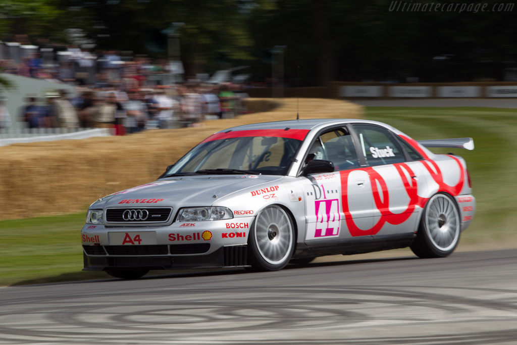 Audi A4 Super Tourer Driver Paul Smith 2014 Goodwood