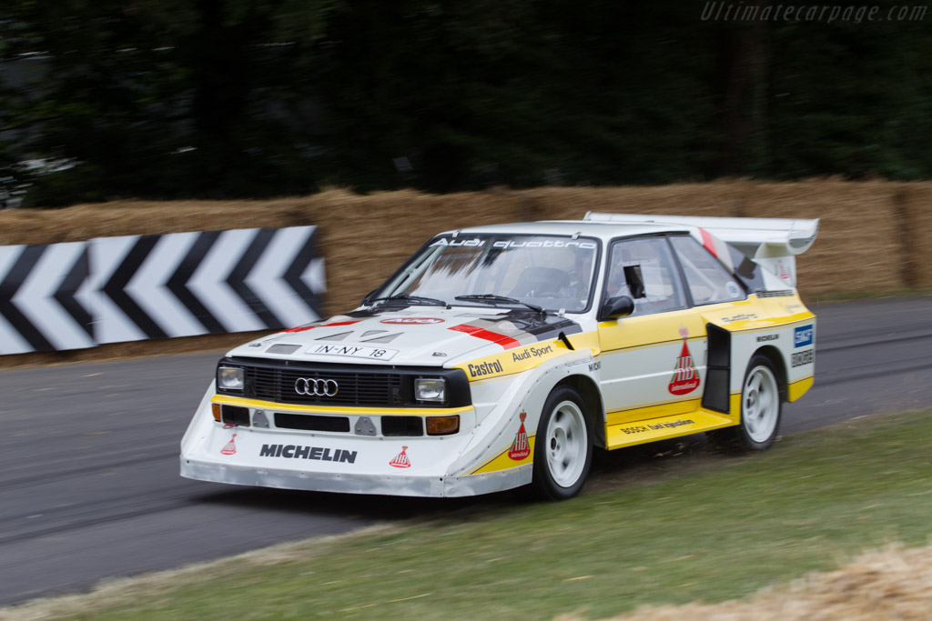 Audi Sport Quattro S1 - Chassis: 85ZGA905002 - Entrant: Audi Tradition - Driver: Hannu Mikkola  - 2014 Goodwood Festival of Speed