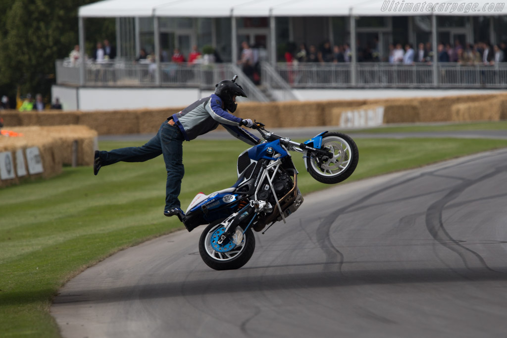 BMW F800R  - Driver: Mattie Griffin  - 2014 Goodwood Festival of Speed