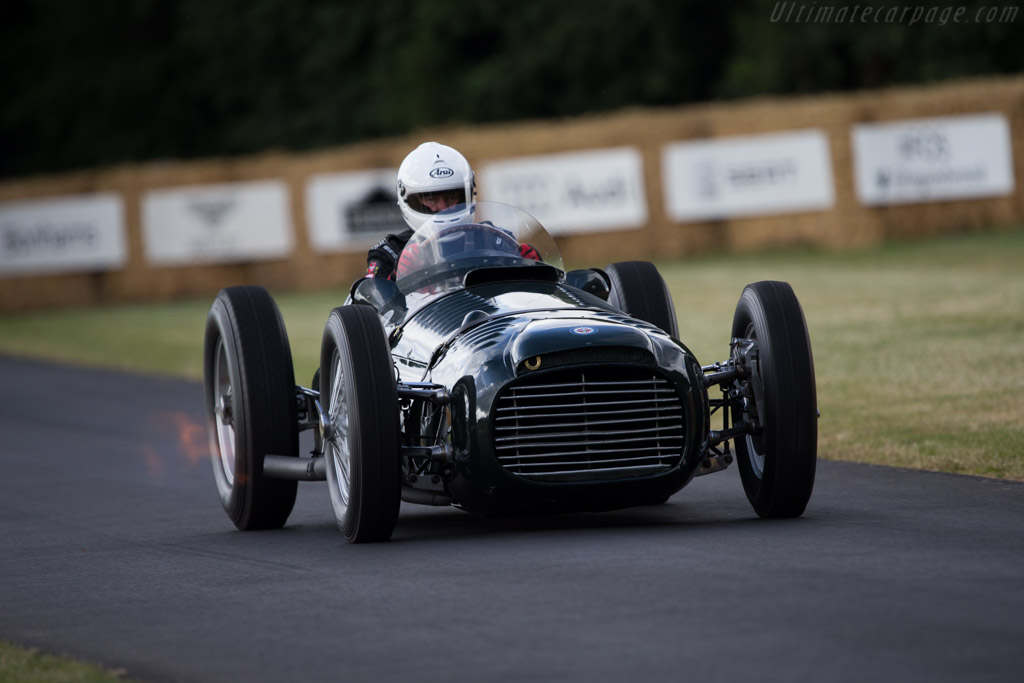 BRM P15 - Chassis: Type 15 / 1 - Entrant: National Motor Museum - Driver: Doug Hill  - 2014 Goodwood Festival of Speed
