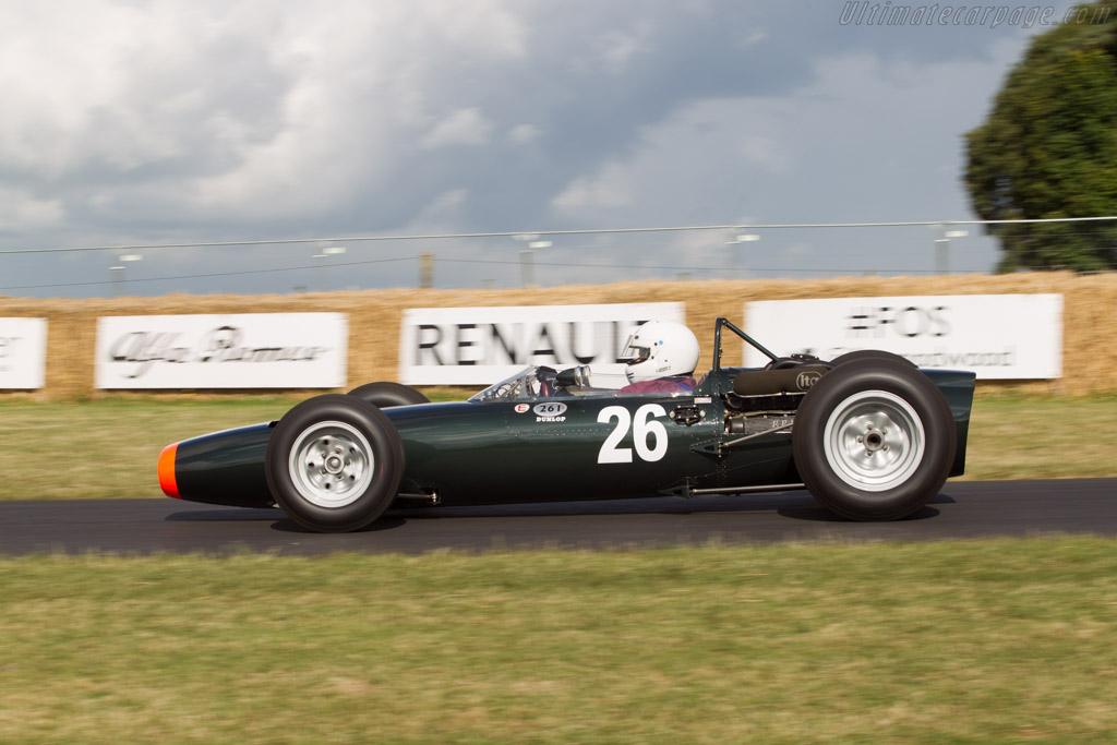 BRM P261 - Chassis: 2615 - Entrant: Andrew Wareing - Driver: Michel Wanty  - 2014 Goodwood Festival of Speed