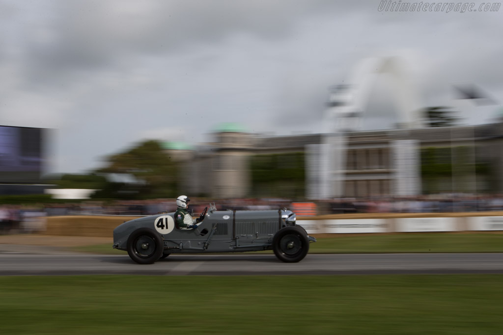 Bentley Speed Six - Chassis: LB2332 - Entrant: Bruce & Jolene McCaw - Driver: Richard Charlesworth  - 2014 Goodwood Festival of Speed