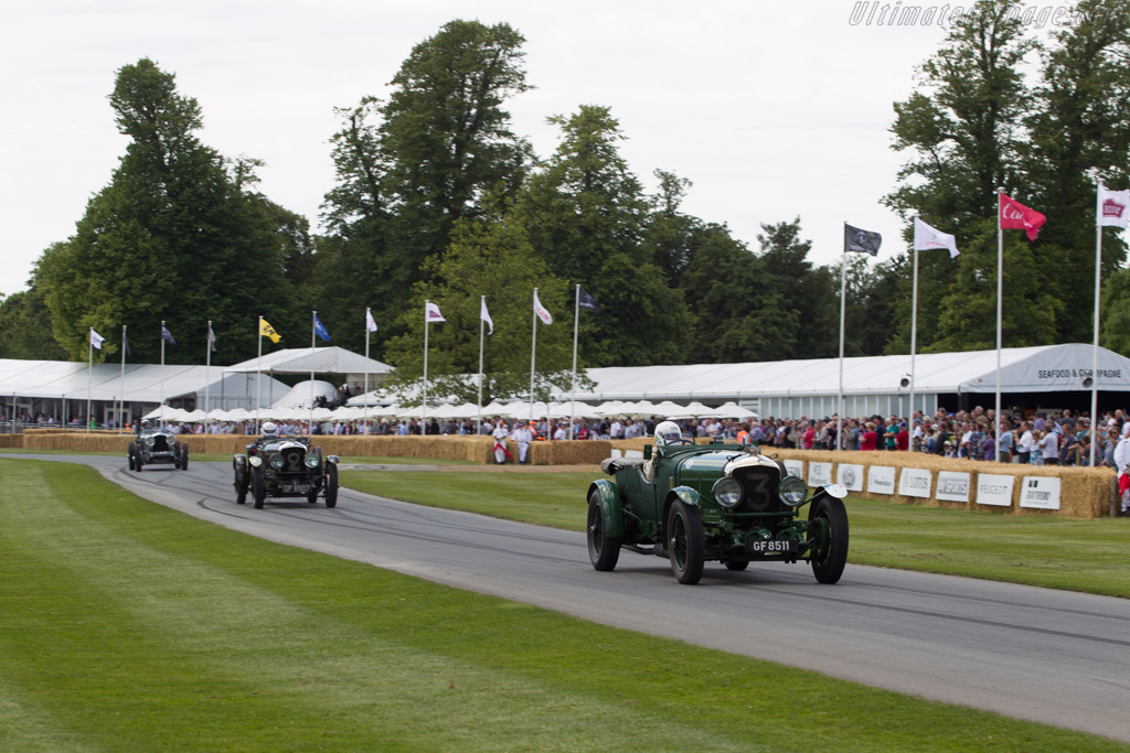 Bentley Speed Six - Chassis: HM2869 - Driver: Peter Neumark  - 2014 Goodwood Festival of Speed