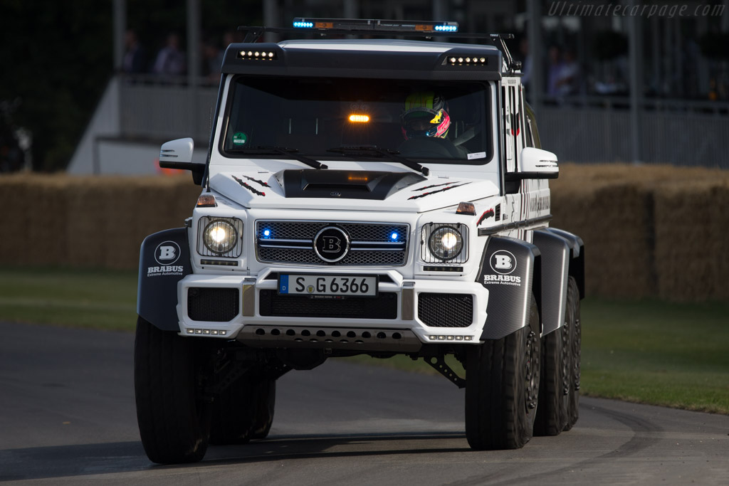 Brabus B63S - 700 6x6    - 2014 Goodwood Festival of Speed
