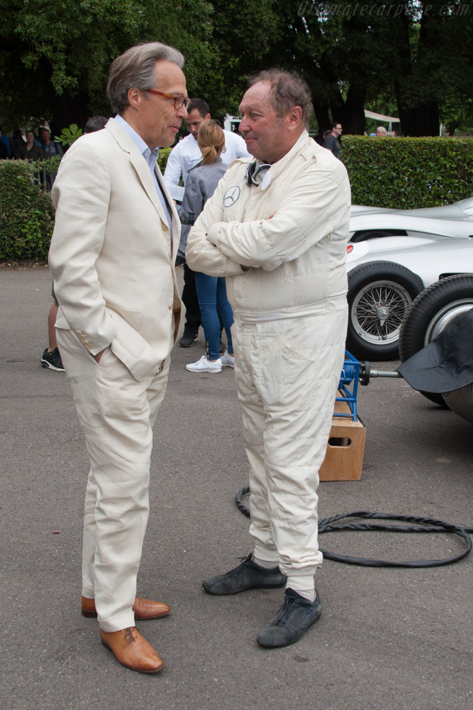 Charles Lord March with Jochen Mass    - 2014 Goodwood Festival of Speed
