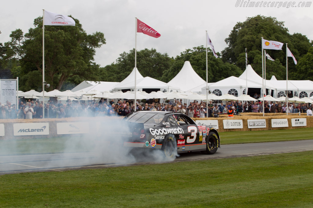 Chevrolet Monte Carlo  - Entrant: Richard Childress Racing - Driver: Kerry Earnhardt  - 2014 Goodwood Festival of Speed