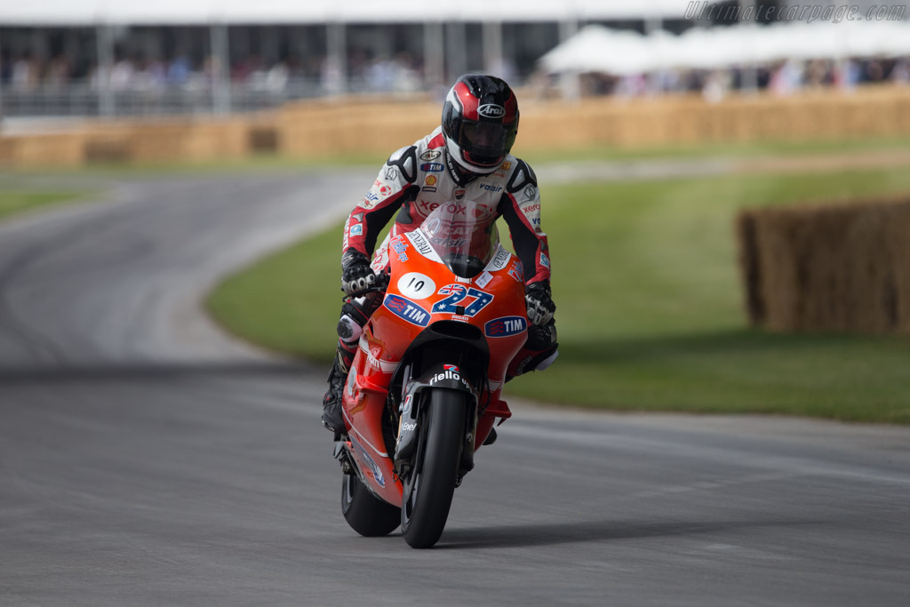 Ducati GP10  - Driver: Jean-Marie Herard  - 2014 Goodwood Festival of Speed