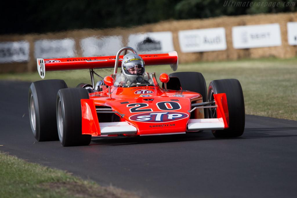 Eagle 7200 Offenhauser - Chassis: 7217 - Entrant: Vintage Racing Motors - Driver: Richard Hamlin  - 2014 Goodwood Festival of Speed