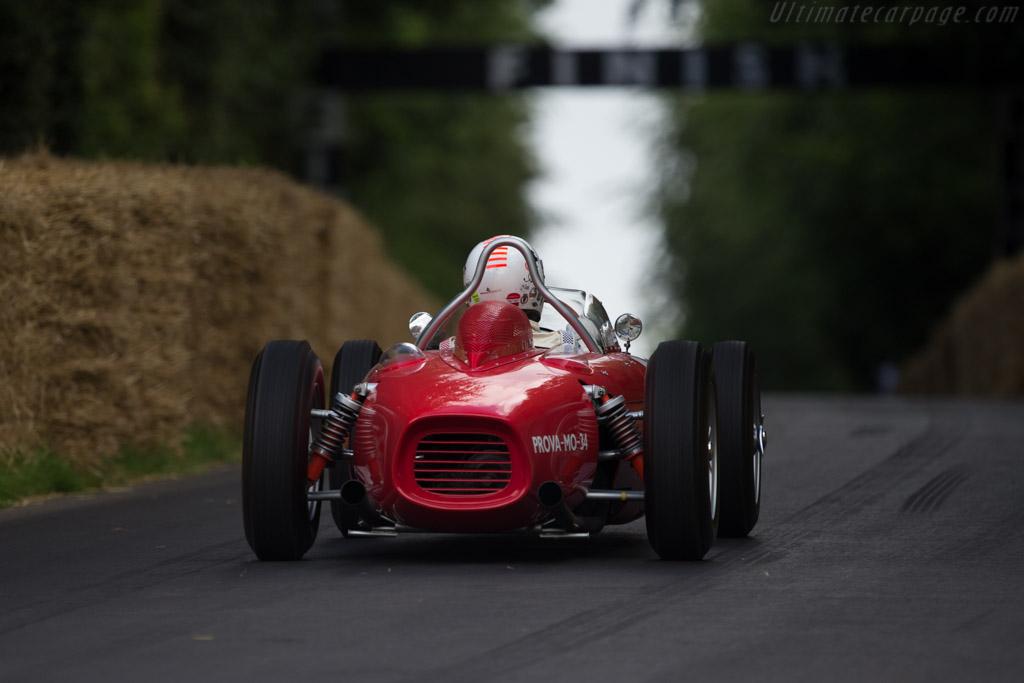 Ferrari 156 Dino F1 - Chassis: 0006R - Entrant: Jason Wright - Driver: Arturo Merzario  - 2014 Goodwood Festival of Speed