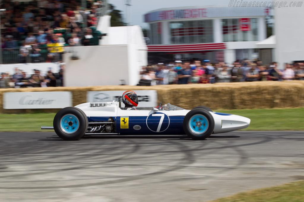 Ferrari 158 F1  - Entrant: Barber Vintage Motorsports Museum  - 2014 Goodwood Festival of Speed