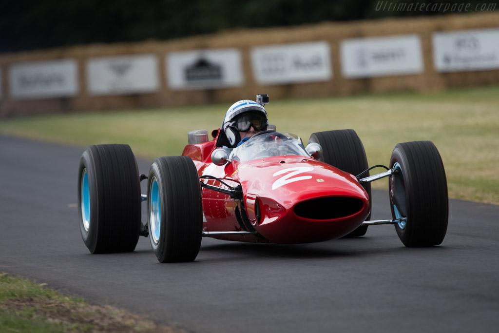 Ferrari 158 F1 - Chassis: 0006 - Entrant: Barber Vintage Motorsports Museum - Driver: John Surtees  - 2014 Goodwood Festival of Speed