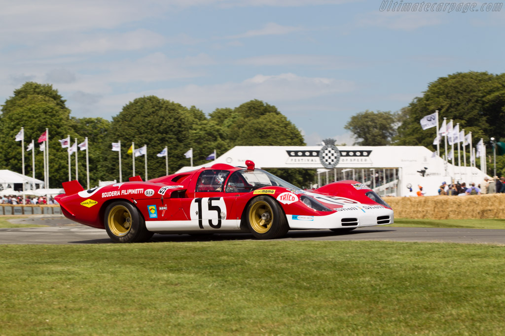 Ferrari 512 S - Chassis: 1016 - Entrant: Franco Meiners - Driver: Emanuele Pirro  - 2014 Goodwood Festival of Speed