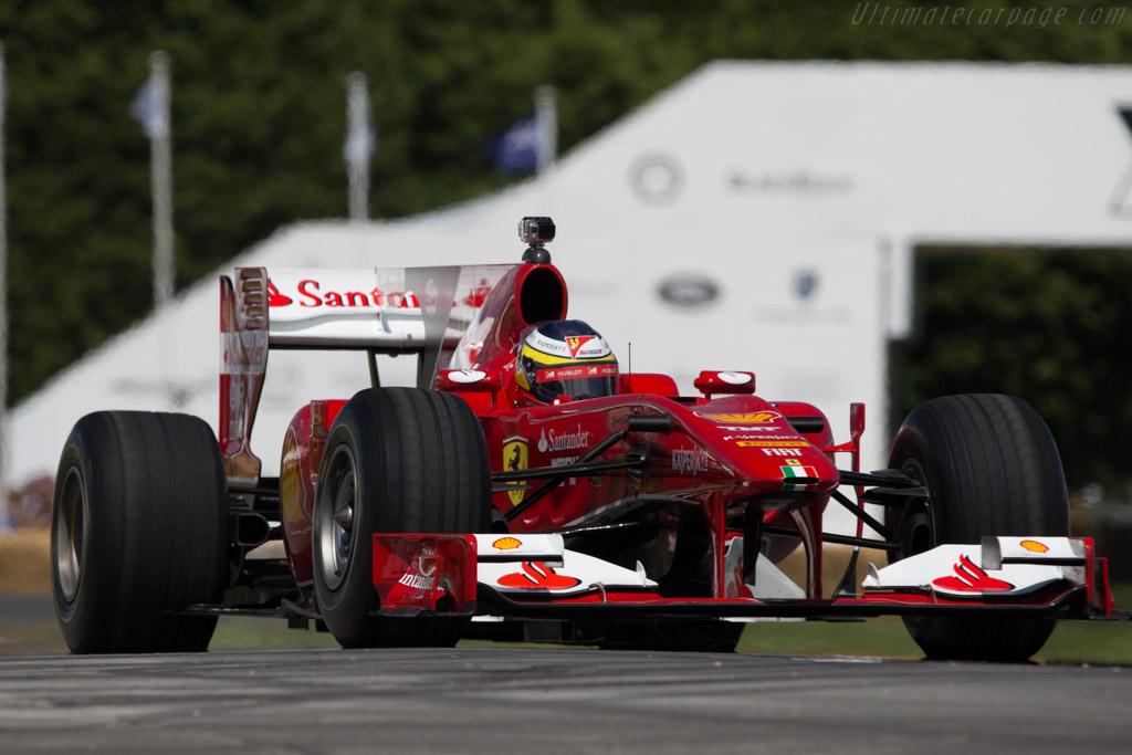Ferrari F10 - Chassis: 284 - Entrant: Scuderia Ferrari - Driver: Pedro de la Rosa  - 2014 Goodwood Festival of Speed