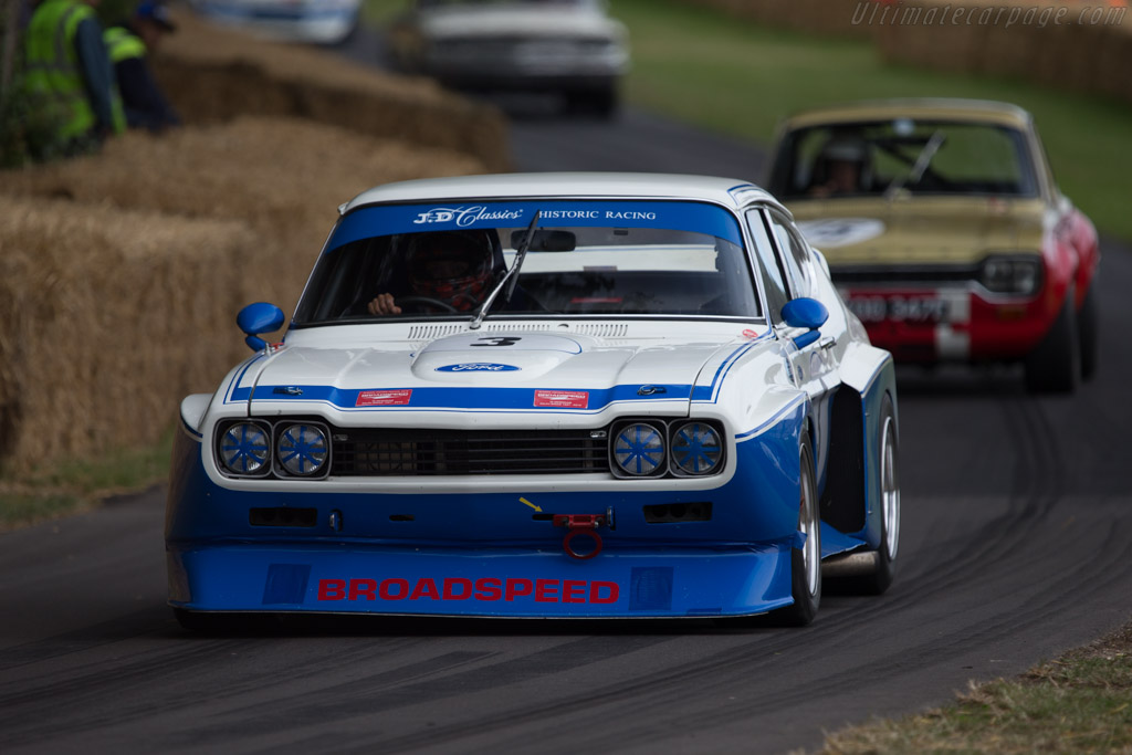 Ford Capri RS - Chassis: BFC 002 - Entrant: Derek Hood - Driver: Chris Ward  - 2014 Goodwood Festival of Speed