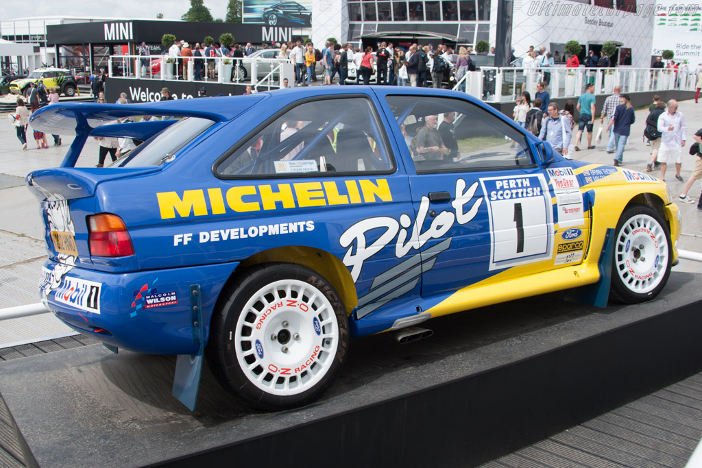 Ford Escort WRC    - 2014 Goodwood Festival of Speed